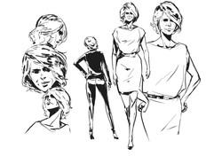 Character design Karen Lee