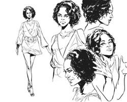 Character design Serena Hale