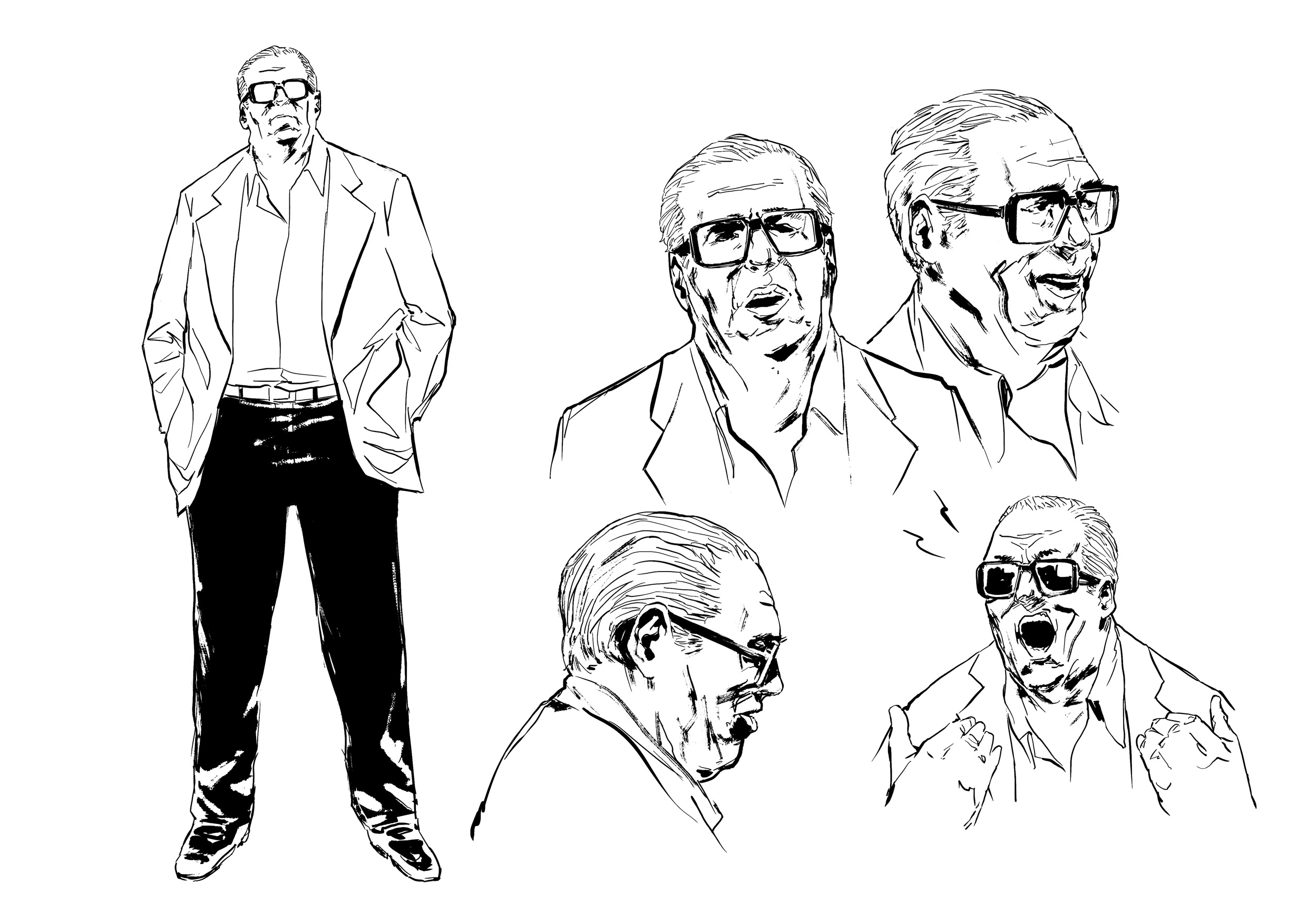 Character design Jack Durant