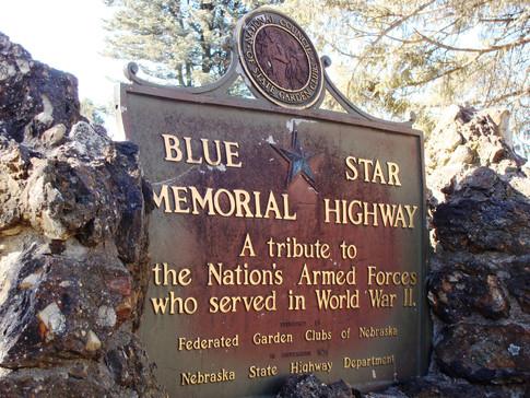 First NGC Blue Star Memorial in Plattsmouth, NE