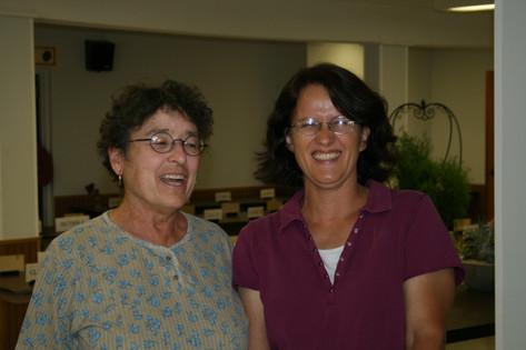 Sharon Muller and Karin Forrest