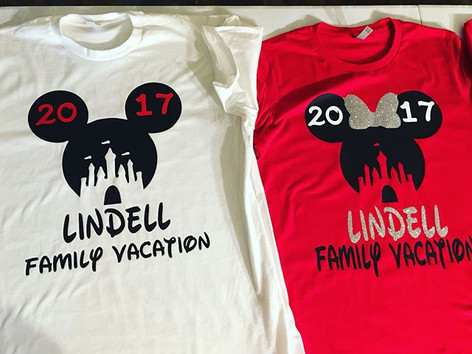 Disney Vacation Shirts! 😍😍 #starprintzunlimited #starprintz #customapparel #customshirt #customshirts  #disneyvacationshirts #disneyshirts #