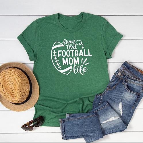 Football Mom 2 T-Shirt/Long Sleeve