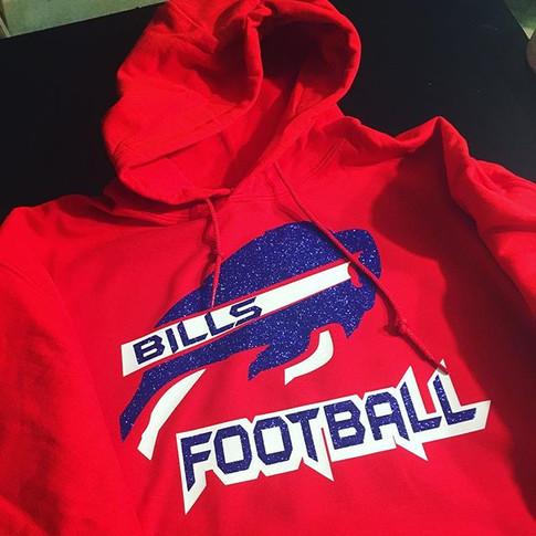 Custom Buffalo Bills Hoodie 🏈🏈 🔥🔥 Keep them coming!! #customhoodie #personalizedhoodies #customapparel #customtees #customshirts #starprintz