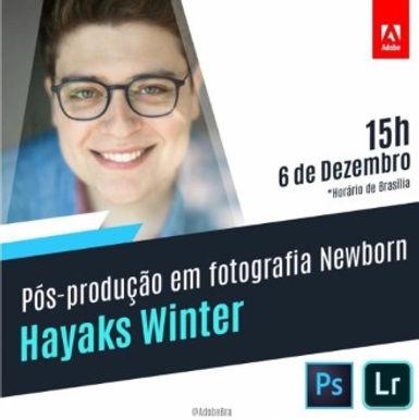 Aula/ Transmissão sobre Pós-produção na Fotografia Newborn