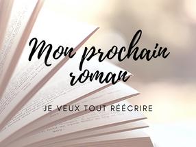 MON PROCHAIN ROMAN : JE VEUX TOUT REECRIRE
