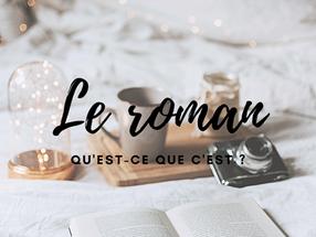 UN ROMAN : QU'EST-CE QUE C'EST ?