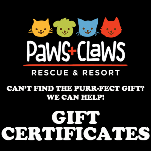 Paws+Claws Gift Certificate