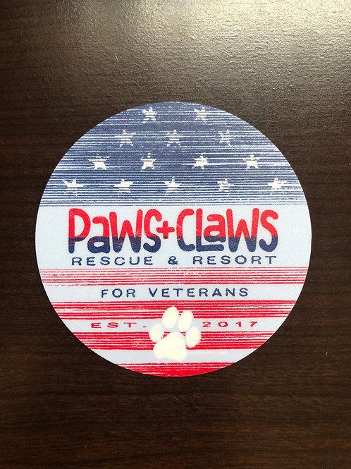 P+C for Veterans Sticker