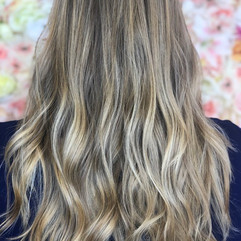 Full babylight (thin highlights), root retouch, haircut, blowdry and style.    Leilani Artistry Studio - Coral Springs, Florida   Broward County's best hair and makeup salon.