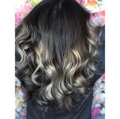 Balayage, root smudge, haircut, blowdry and style.   Leilani Artistry Studio - Coral Springs, Florida   Broward County's best hair and makeup salon.