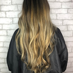 Full balayage, root smudge, haircut, blowdry and style.   Leilani Artistry Studio - Coral Springs, Florida   Broward County's best hair and makeup salon.