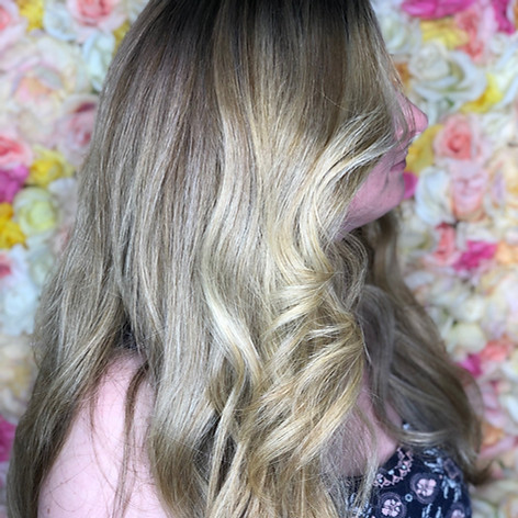 Full babylight, haircut, blowdry and style.   Leilani Artistry Studio - Coral Springs, Florida   Broward County's best hair and makeup salon.