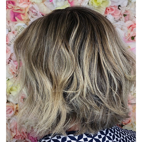 Full highlight, root retouch, haircut, blowdry and style.   Leilani Artistry Studio - Coral Springs, Florida   Broward County's best hair and makeup salon.