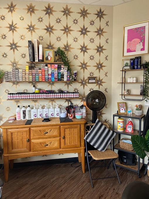 Inside of Coral Springs Hair Salon