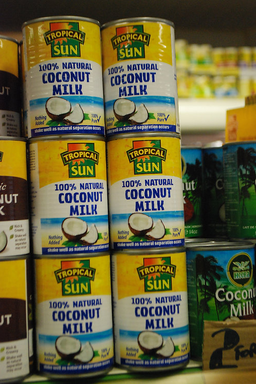 Tropical Sun Coconut Milk (Tinned)