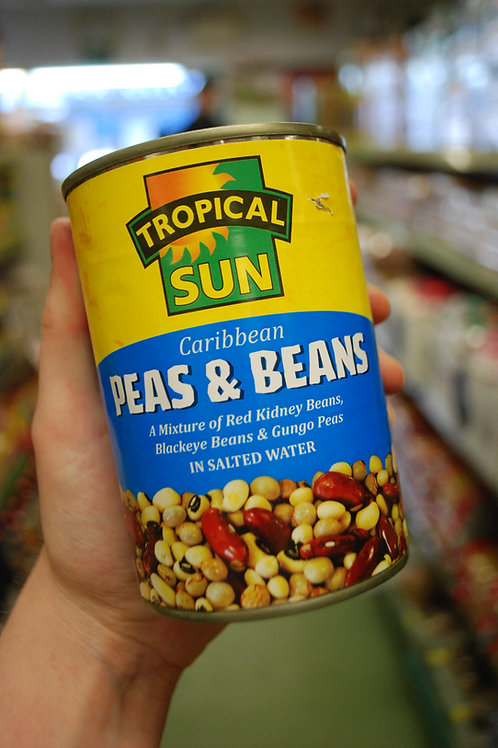 Tropical Sun and Heera Beans and Peas