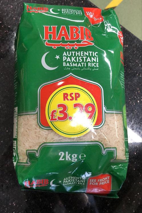 Basmati rice 2 kilo