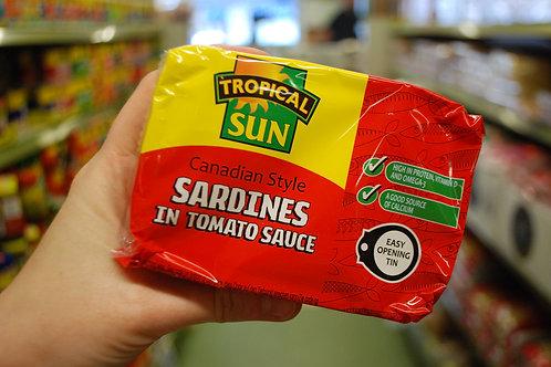 Tropical Sun Tinned Sardines