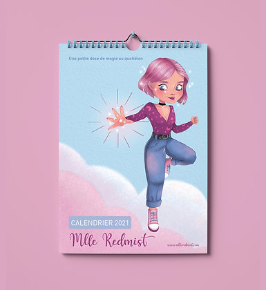 Calendrier Mlle Redmist