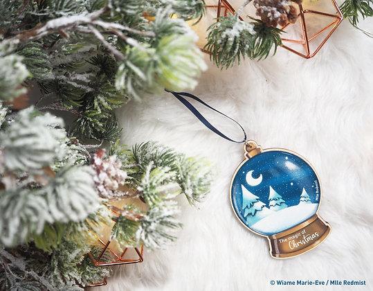 "Boule de Noël ""The magic of Christmas"""