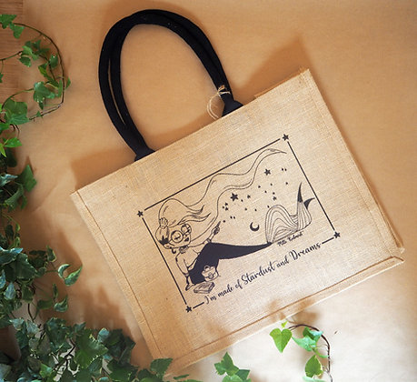 Sac en jute / I'm made of Stardust & Dreams