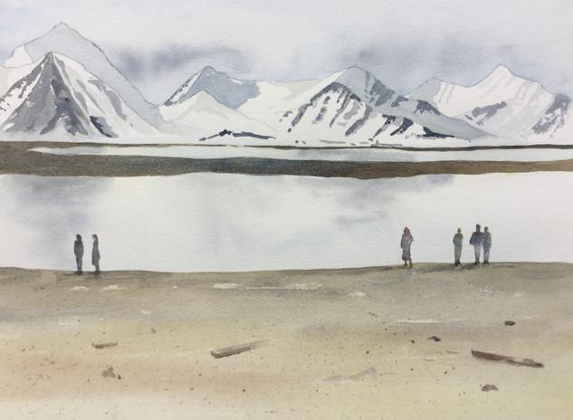 Svalbard water