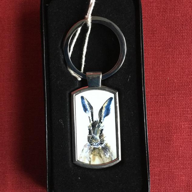 Hare key-ring
