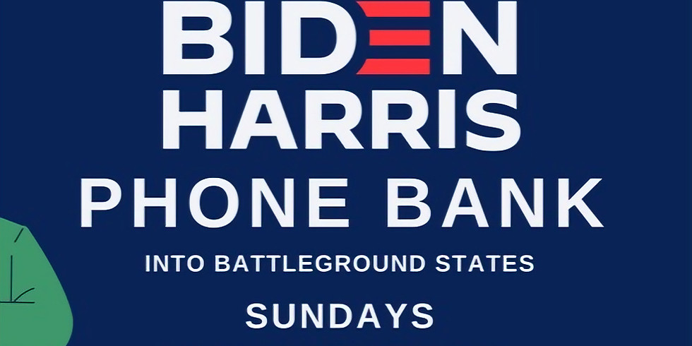 Healthcare Workers for Biden Phone Bank: 4-6PM EDT