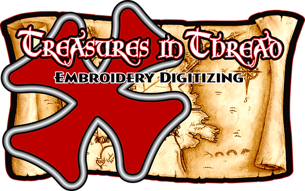 Tresures in Thread Christmas logo