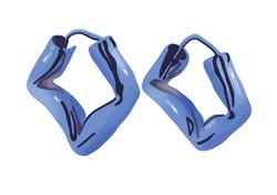Blue Chaos Earrings