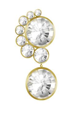 Diamond Transform Earring