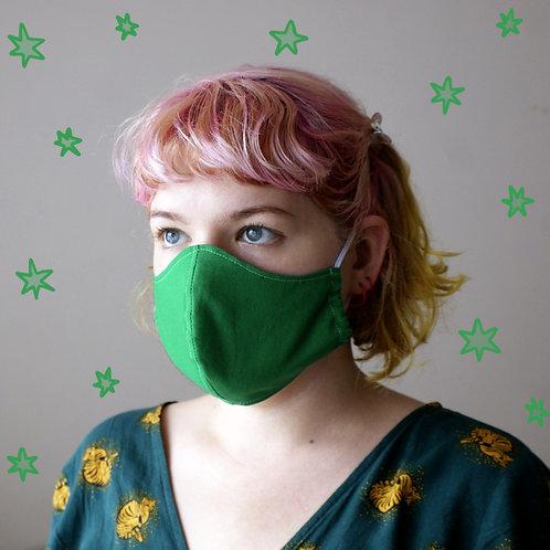 Emerald Green Mask