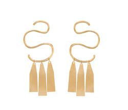 Statement Gold Earrings