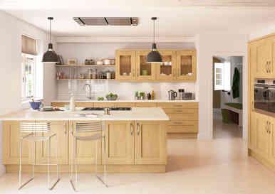 Rivington kitchen natural Oak