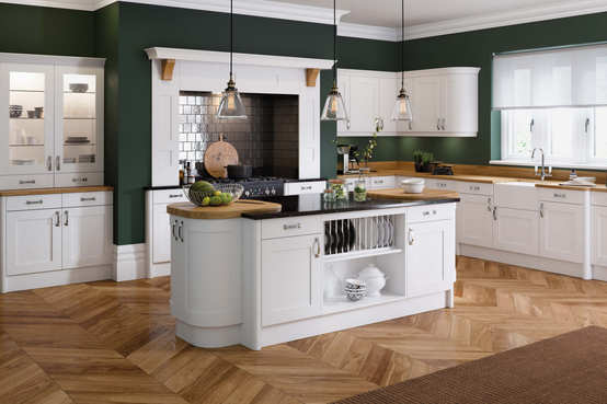 Oxford kitchen White