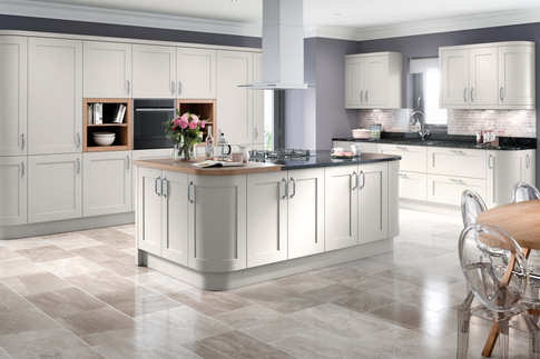 Oxford kitchen Light Grey