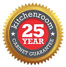 Kitchenroom 25 Year Guarantee on kitchen cabinets