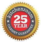 Kitchenroom 25 Year Guarantee on kitchen cabinets