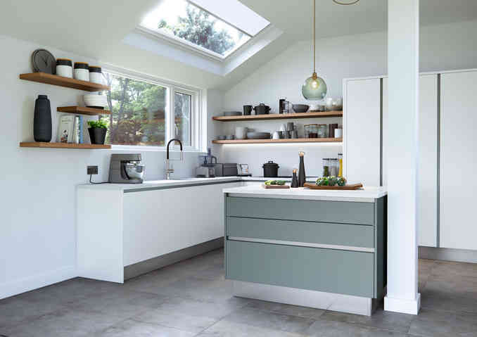 Cosdon kitchen matt finish