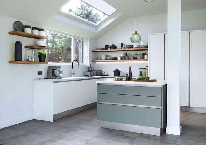 Cosdon kitchen matt finish