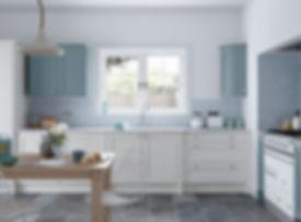 Faringdon Shaker kitchen Porcelain