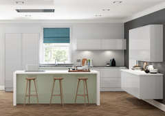 Welford kitchen Grey and Willow