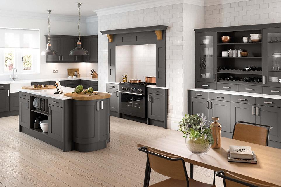 Oxford kitchen Anthracite