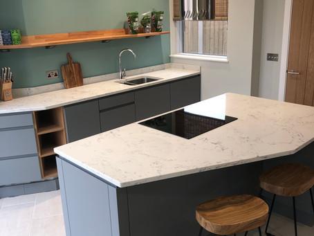 Modern matt finish kitchen Bicester