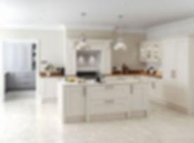 Rivington kitchen in cream