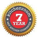 Kitchenroom 7 Year Guarantee on MDF kitchens