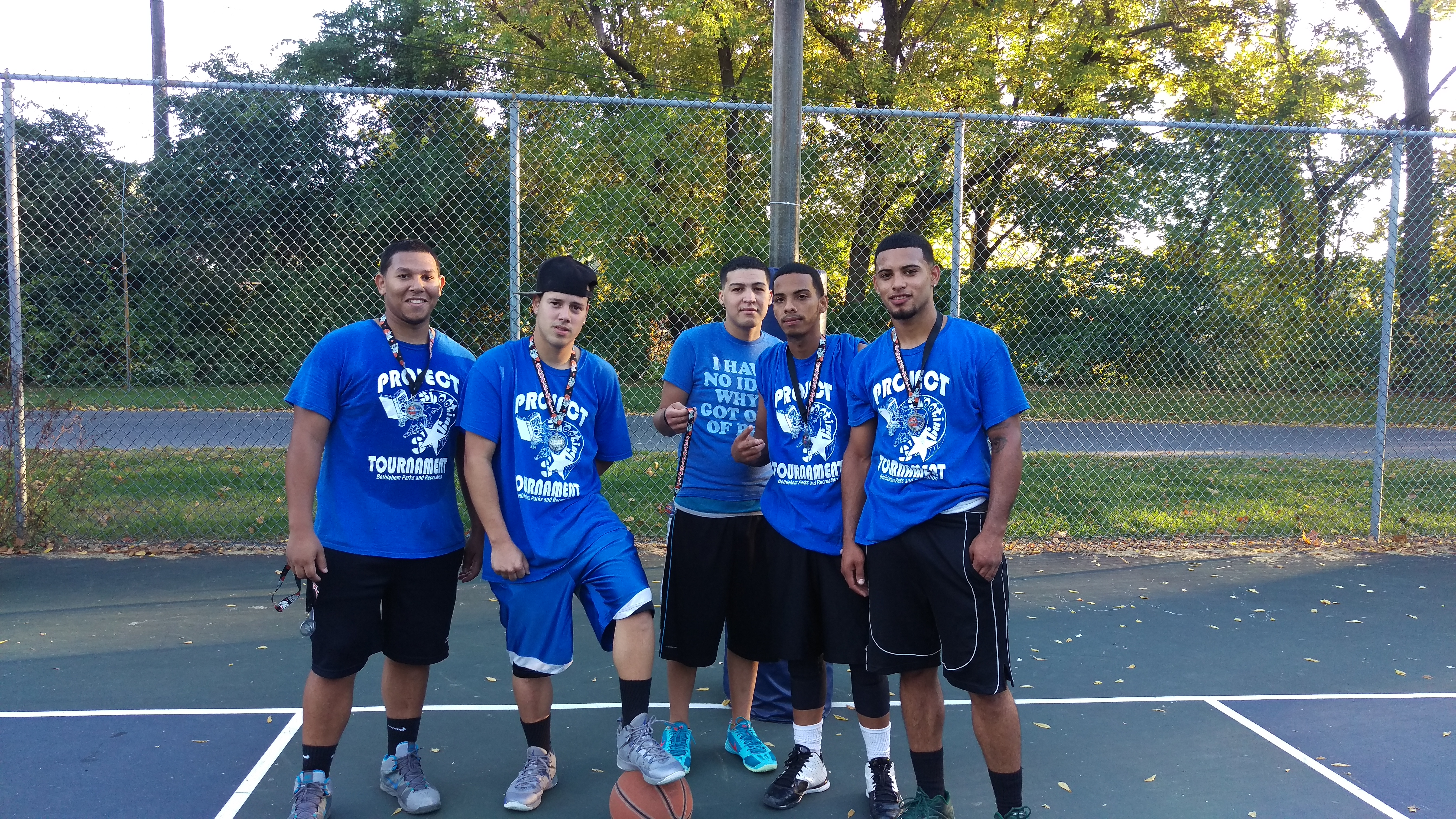 Blue South Terrace Team 2nd Place