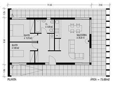 casa modular de luxo