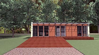 construção modular em LSF